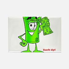 Mr. Deal - Buck Up - Dollar B Rectangle Magnet