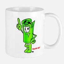 Mr. Deal - Buck Up - Pointing Mug