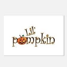 Lil' Pumpkin Postcards (Package of 8)