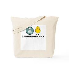 Badminton Chick Tote Bag