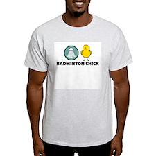 Badminton Chick T-Shirt
