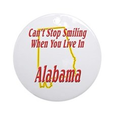 Can't Stop Smiling Ornament (Round)