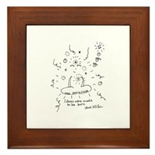 Funny Attractions Framed Tile