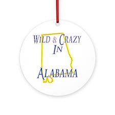 Wild & Crazy Ornament (Round)