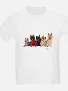 Cairn Terrier Friends T-Shirt