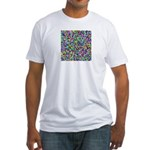 HDCP Master Key Color Grid Fitted T-Shirt
