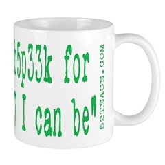 Anti-web 2.0 1337 Geek Mug