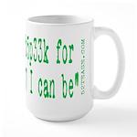 Anti-web 2.0 1337 Geek Large Mug