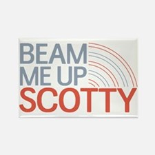 Beam Me Up Scotty Rectangle Magnet