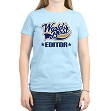 Worlds Best Editor T-Shirt