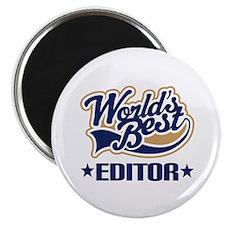 Worlds Best Editor Magnet