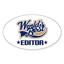 Worlds Best Editor Decal