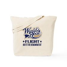 Worlds Best Flight Attendant Tote Bag