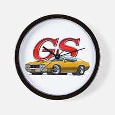 Gold Skylark GS WV Wall Clock
