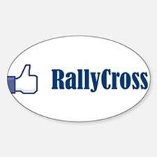 Cool Rally Sticker (Oval)