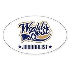 Worlds Best Journalist Decal