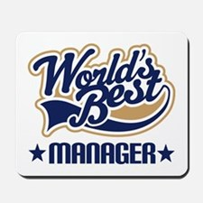 Worlds Best Manager Mousepad