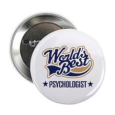 """Worlds Best Psychologist 2.25"""" Button"""