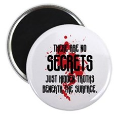 "DEXTER: There Are No Secrets 2.25"" Magnet (100 pac"