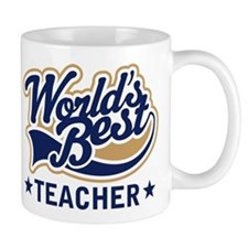 Worlds Best Teacher Small Mug