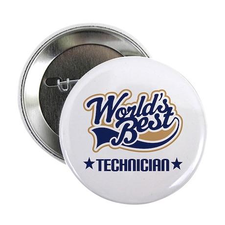"""Worlds Best Technician 2.25"""" Button"""