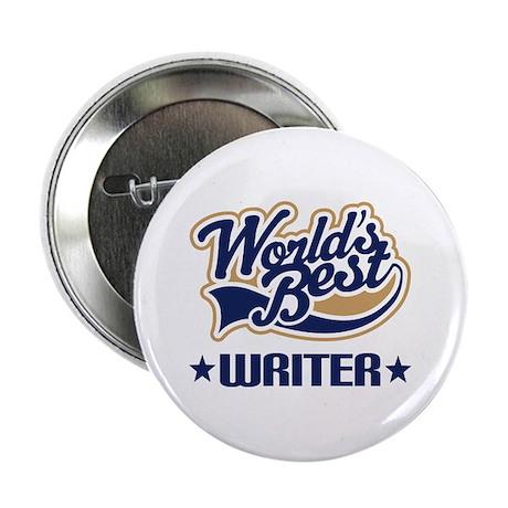 """Worlds Best Writer 2.25"""" Button"""