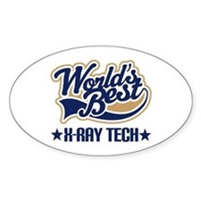 Worlds Best X-Ray Tech Decal