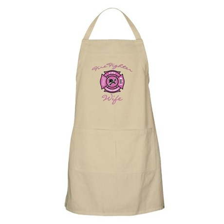firefighter wife Apron
