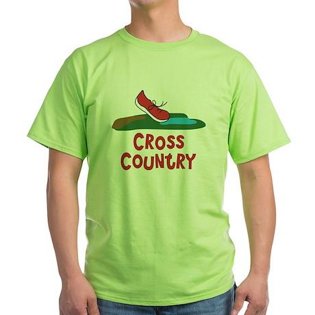 Cross Country Run Green T-Shirt