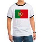 Portugal Flag Ringer T