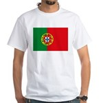 Portugal Flag White T-Shirt