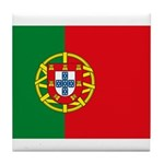 Portugal Flag Tile Coaster