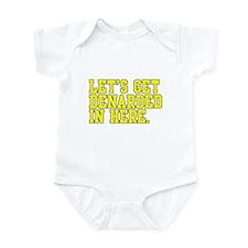 Denarded Infant Bodysuit