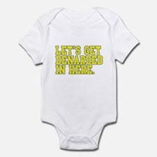 Denarded Infant Bodysuit