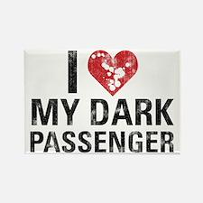 Dexter: Dark Passenger Rectangle Magnet