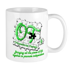 ot puzzlegreen Mugs