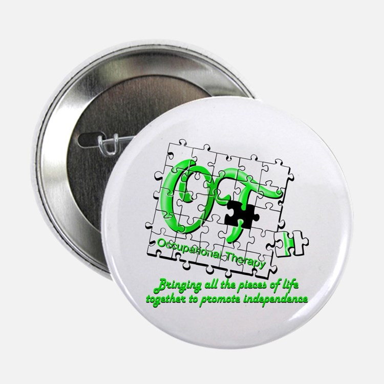 """Cute Occupational therapy 2.25"""" Button (10 pack)"""