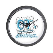 Funny Occupational therapy Wall Clock