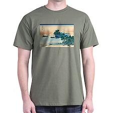 Hokusai Shichiri beach in Sagami Province T-Shirt