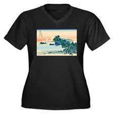 Hokusai Shichiri beach in Sagami Province Women's
