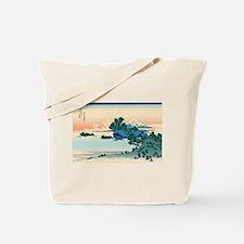 Hokusai Shichiri beach in Sagami Province Tote Bag