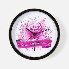 mrs mcdreamy Wall Clock