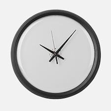 Bazinga Large Wall Clock