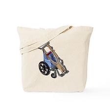 Crutches Wheelchair Tote Bag