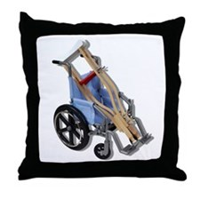 Crutches Wheelchair Throw Pillow
