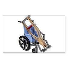 Crutches Wheelchair Decal