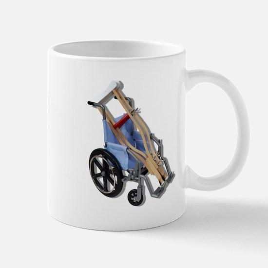 Crutches Wheelchair Mug