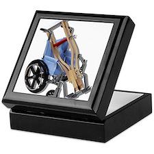 Crutches Wheelchair Keepsake Box