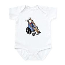 Crutches Wheelchair Infant Bodysuit