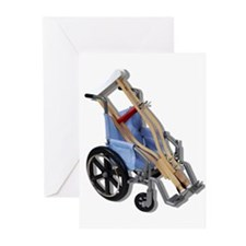 Crutches Wheelchair Greeting Cards (Pk of 20)